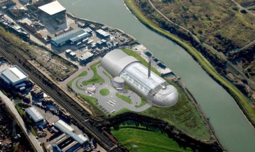 Newhaven Energy Recovery Facility (Image by Hochtief UK Construction)