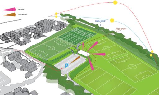 Falmer Sports Pavilion - LCE