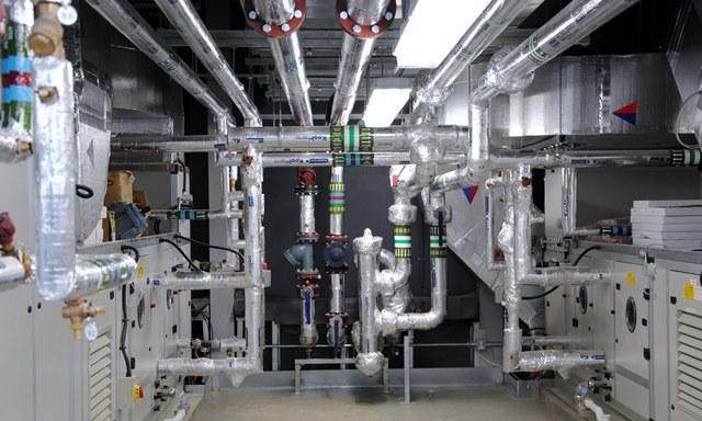 Opd Building Plantroom Worthing Hospital Ama